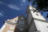 baroque church in Gheorgheni