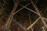 wooden scaffold in church