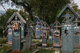 Merry Cemetery in Sapanta