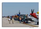 P-51's On Display