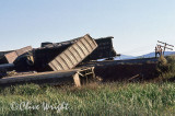 derailment just south of Algoma Siding