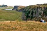 approaching Hadrian's wall