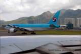 Korean Airlines at Hongkong International Airport