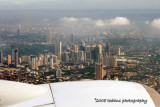 View of Metro Manila from Seat 34A