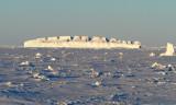 Colosseum iceberg in fast ice