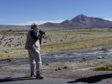 Cynthia at Lauca National Park