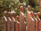 Ampijaroa  National Park statues