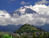 Volcano Popocatepetl