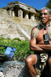 Old Shaman in Thoughts, Palenque