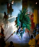 Battle Between Montezuma and Cortes, Xcaret Theatre
