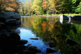 Blue Sky and Fall Color Reflection tb1003hjr.jpg