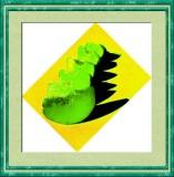 Green Peaches - Enhanced Photo