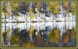 Autumn Snow at Lyman Run State Park