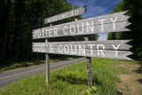 Route 44 Potter-Lycoming County line