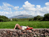 Chilling on the Dingle Peninsula