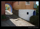 The Roundhouse Steps, Portmeirion 2008