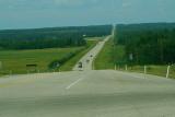 Heading west towards Pigeon Lake