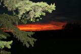 Western  prairie sunset