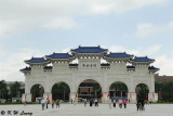 Ceremonial gateway at the entrance to the Chiang Kai-shek Memorial Hall