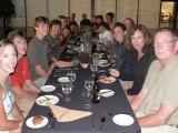ROW organizes a final farewell dinner after we hit land