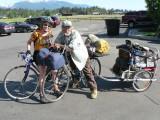 John, 70, has biked across the US eight times.
