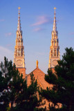 Twin Spires At Sunset 16084