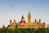 Hot Air Over Parliament 16066
