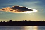 Backlit Cloud 16868