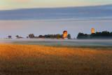 Misty Farm At Sunrise 17301