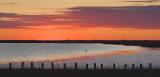 Powderhorn Lake Sunset Panorama 28574-5