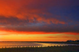 Powderhorn Lake At Sunset 30479