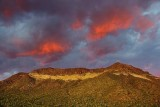 Fire In The Sky Over Pass Mountain 81461