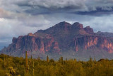 Dark Cloud Over Superstition Mountain 81259