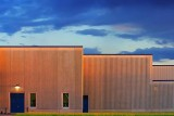 Industrial Building At Sunset 15510