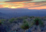 Big Bend Sunset 7657