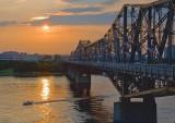 Alexandra Bridge Near Sunset 16078