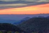 Big Bend At Sunset 7659