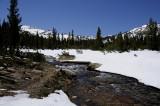 Still snowy landscape