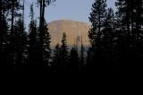 Sunrise on the Backside of Half Dome