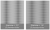 Gamma Gradient Testing Set