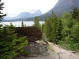 P1010085 rock by trail toward lake.JPG