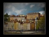 quai st Vincent à Lyon, France
