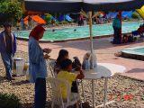makan cuanki di Air panas Cimanggu