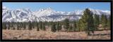Almost Spring -  Eastern Sierra Range (pano)