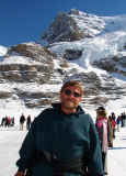 Howie on the Glacier