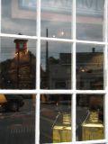 Lanterns in Window