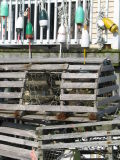 Lobster Traps and Buoys 1