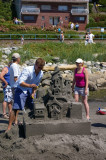 White Rock Sandcastle Competition 2008