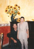 Tita y yo en un bar en Tepoztl†n.jpg