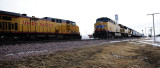 Freight Trains Meet